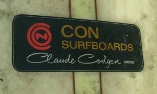 Classic black laminate with Codgen's signature