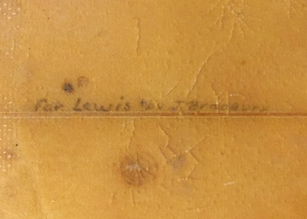Creative Freedom John Bradbury 1970s Single Fin Signature1