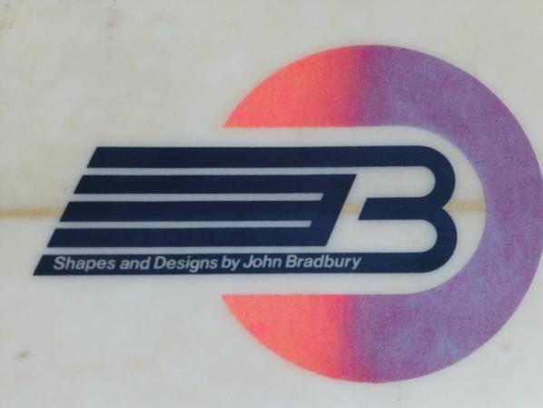 Creative Freedom John Bradbury 1980s Thruster 7'6.jpg