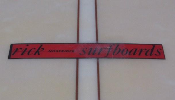 Rick Surfboards Noserider Logo