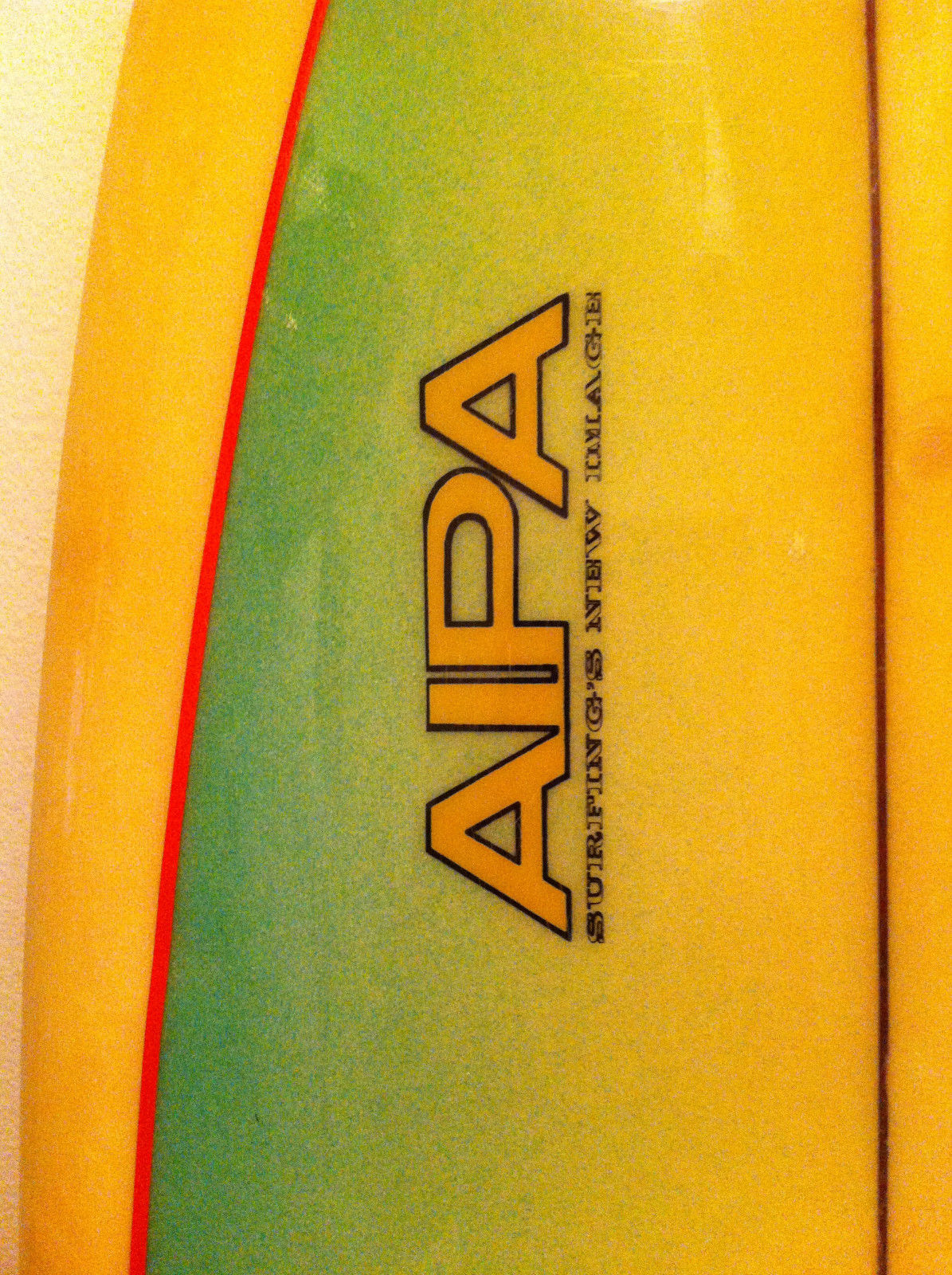 Surfing's New Image Aipa Sting by Rick Hamon2