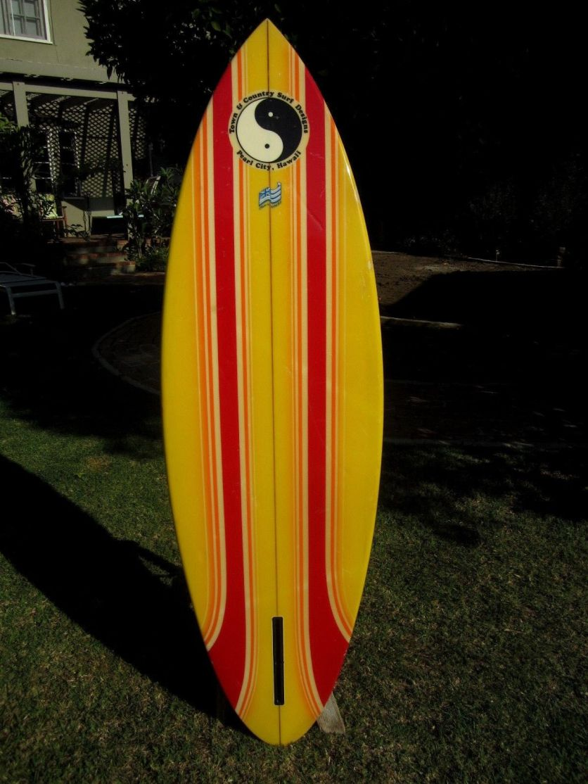 T&C Dennis Pang Single Fin 5'9 7
