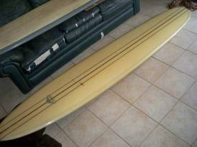 Vintage Yater Longboard Signature Surfboard Logo 3