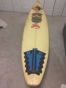 Christian Fletcher Surfboards Steve Boysen Thruster 6'3 1