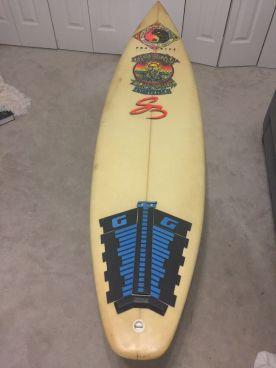 Christian Fletcher Surfboards Steve Boysen Thruster 6'3 1