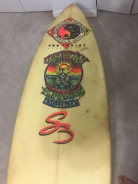 Christian Fletcher Surfboards Steve Boysen Thruster 6'3 4