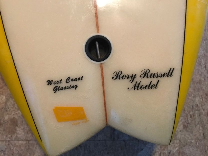 Lightning Bolt Rory Russell Twin Fin 5'4 9
