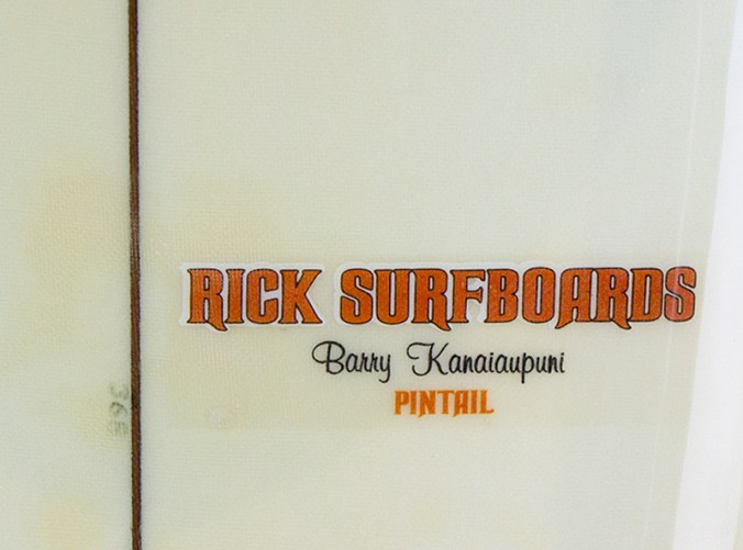 Rick Surfboards Barry Kanaiaupuni Model Logo Closeup.jpg