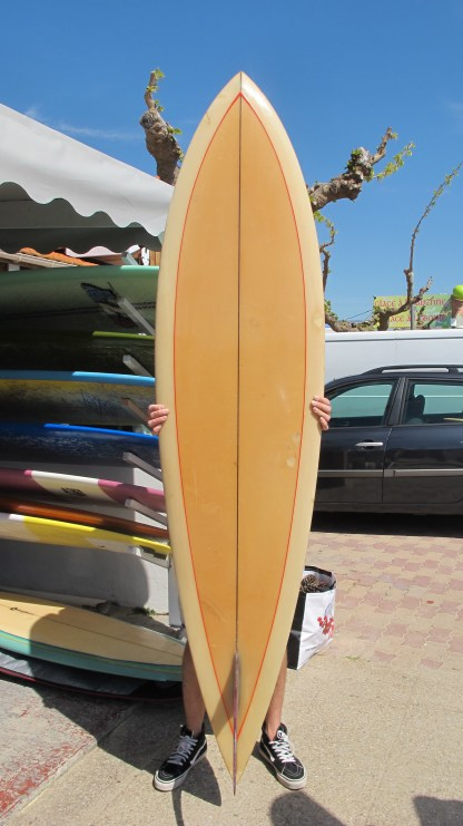 Rick Surfboards Barry Kanaiaupuni Model Pintail Glass On Fin 2