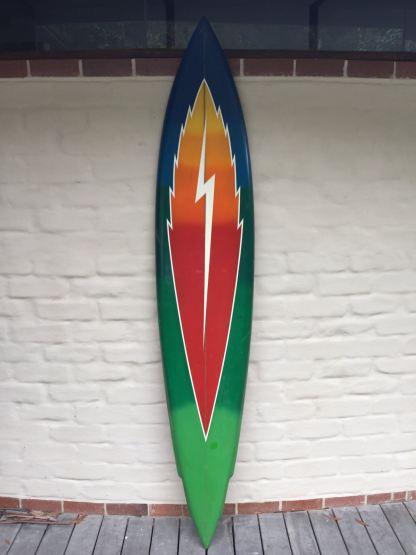 Terry Fitzgerald Lightning Bolt Surfboard 7