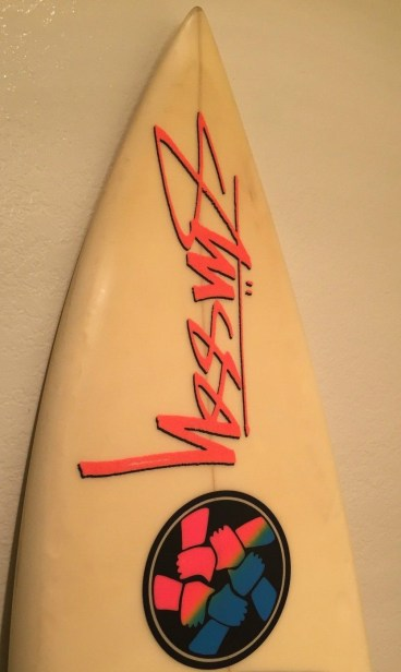 Eighties Stussy Boards Neon Brotherhood Logo 1
