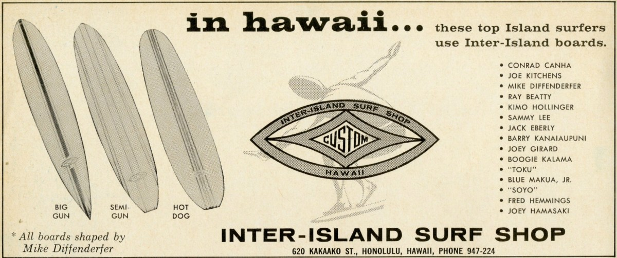 Mike Diffenderfer for Inter-Island Surf Shop: Sagas of Shred