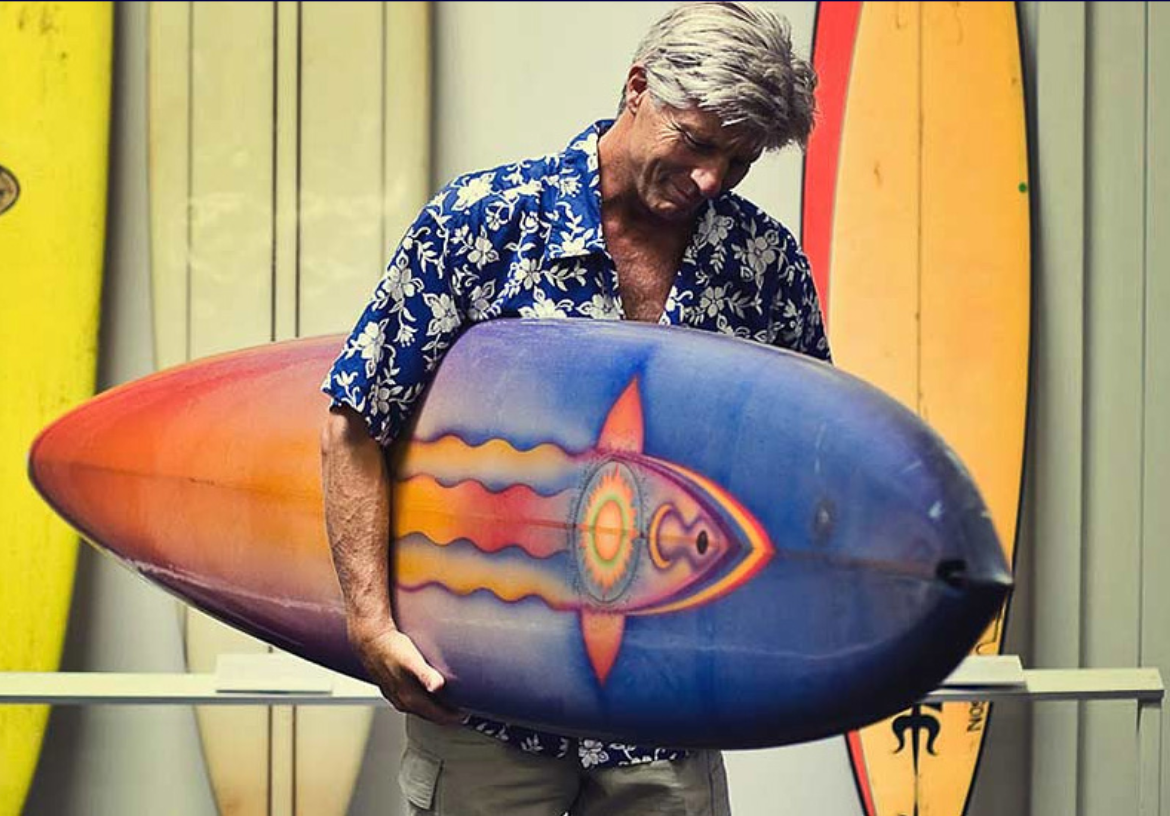 Mike Hynson for Bahne Surfboards
