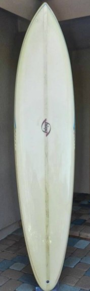 Vintage Bing Single Fin Surfboard