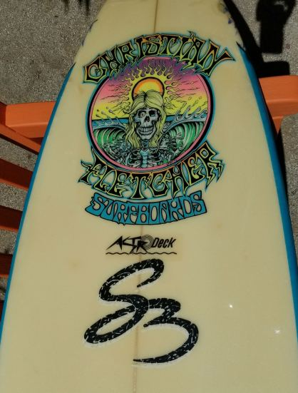 Christian Fletcher Surfboard Steve Boysen 5