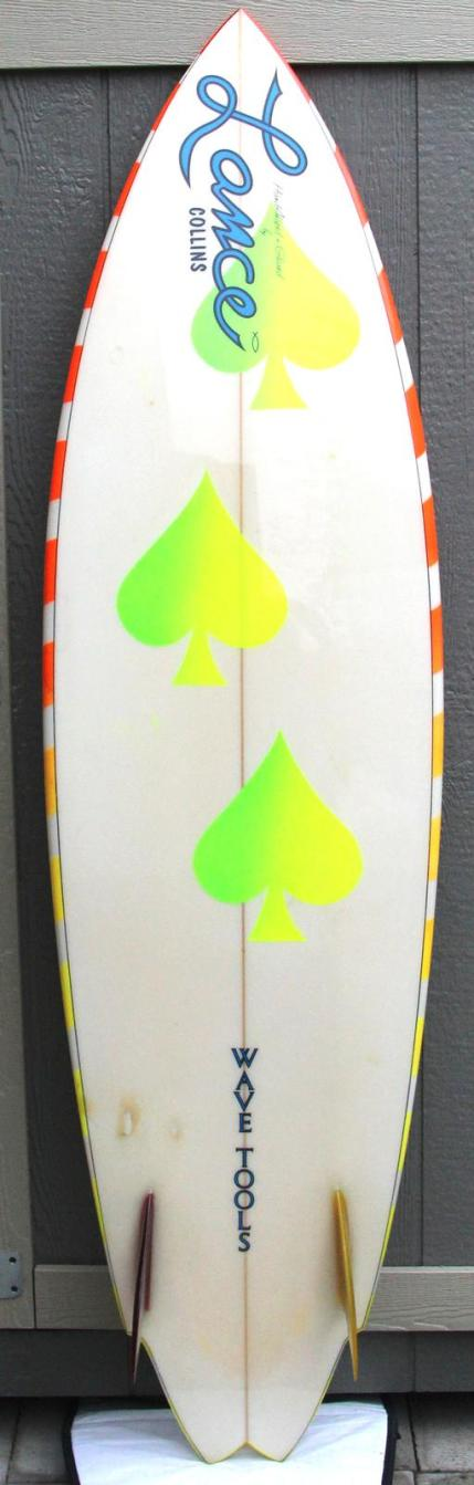 Wave Tools Lance Collins Twin Fin California Gold Surf Auction 1