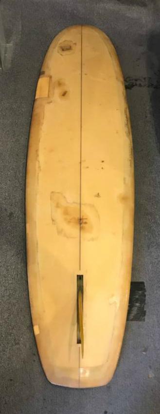 Transition Era Ole Surfboards Hull Bottom