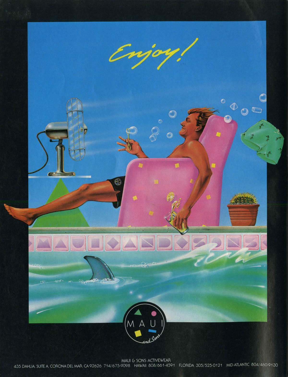 Eighties Maui and Sons Ad: Sagas of Shred – SHRED SLEDZ
