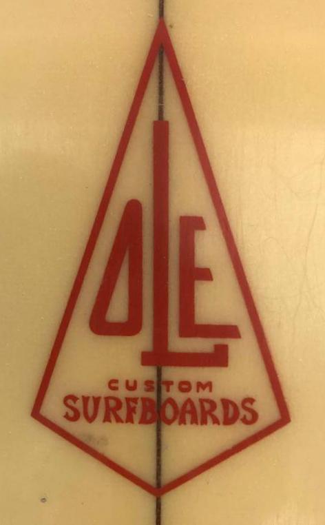 Vintage Ole Surfboards Stubby