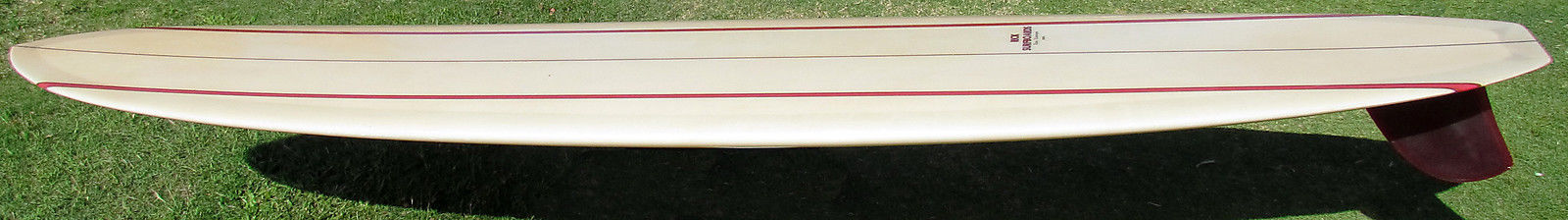 Rick Barry Kanaiaupuni Model Longboard Restored 1
