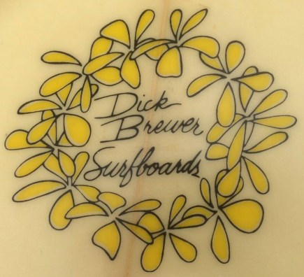 Vintage Dick Brewer Logo