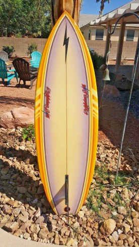 Lightning Bolt Rory Russell Single Fin