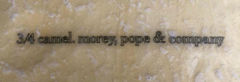 Morey Pope 3/4 Camel: Transition Era Displacement Hull
