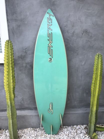 Energy Surfboards Thruster by Frank Latta 2