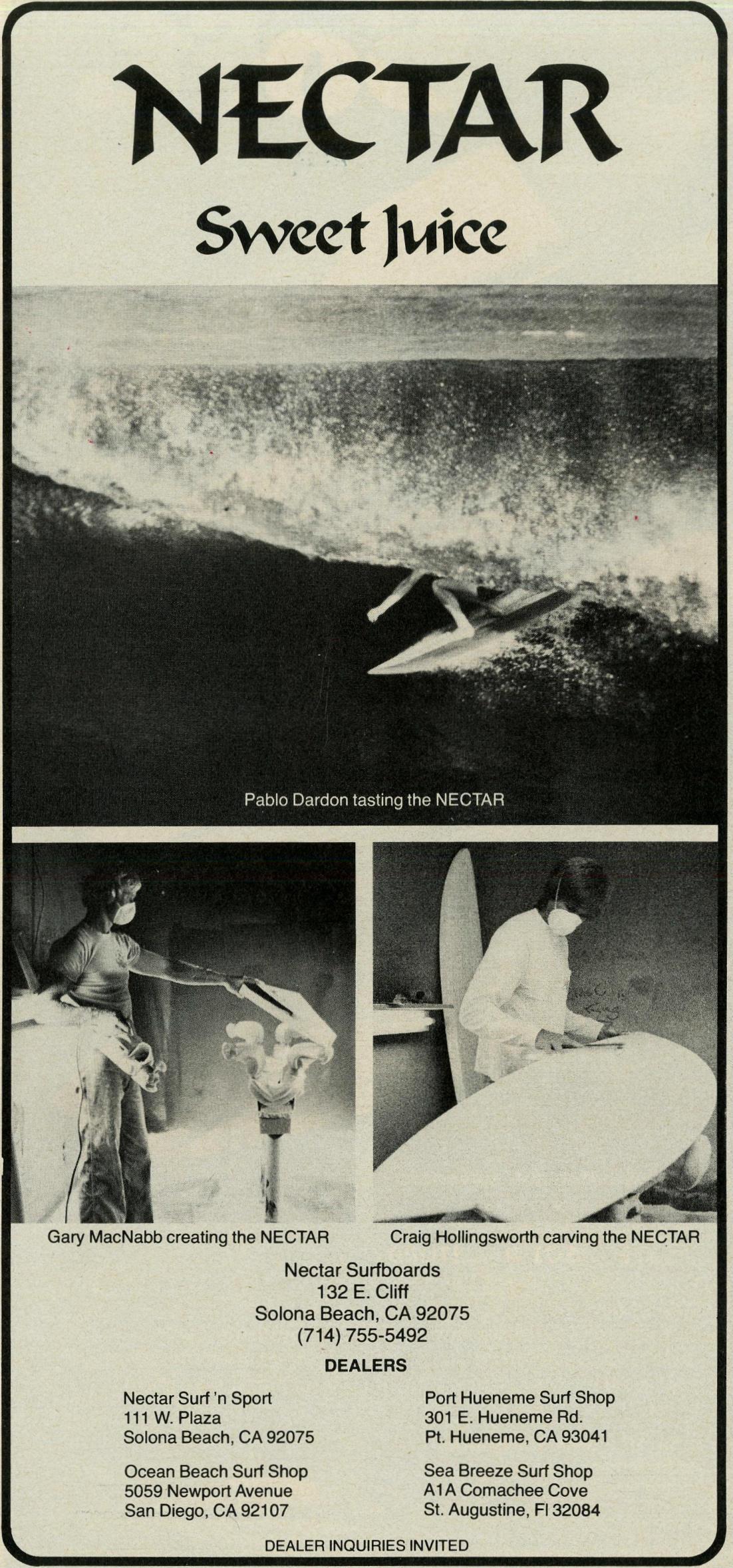 Sweet Juice via Nectar Surfboards: Sagas of Shred