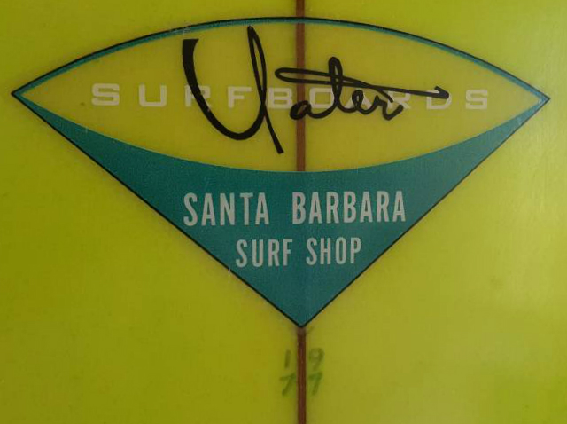 Seventies Yater Single Fin Logo