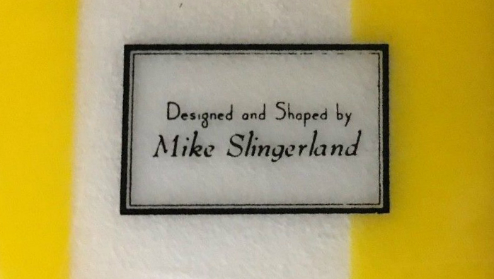 Surfboards Hawaii Mike Slingerland Single Fin Logo