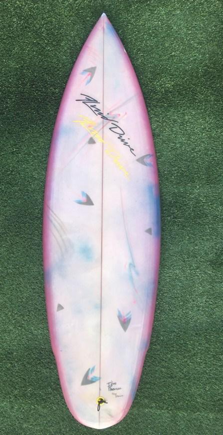 Tim Phares Surfboards Thruster 9