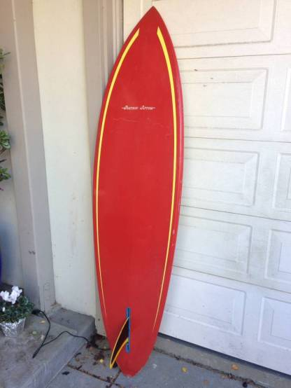 Pearson Arrow Seventies Single Fin 2