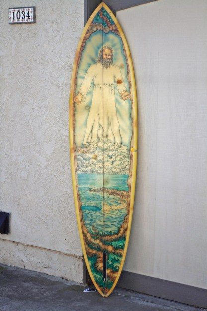Channel Islands Single Fin Jack Meyer Airbrush 1
