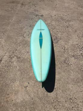 Vintage McCoy Surfboards Barry Kanaiaupuni Model 1