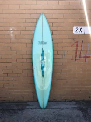 Vintage McCoy Surfboards Barry Kanaiaupuni Model 6