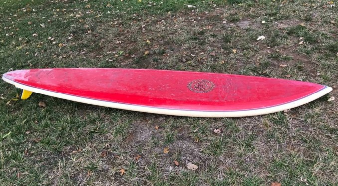Brewer Hawk Surfboards Sam Hawk Single Fin
