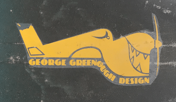 George Greenough Design Edge Board Shaped by Bob Duncan