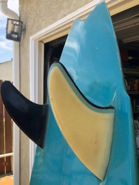 Nectar Surfboards Twin Fin Tail