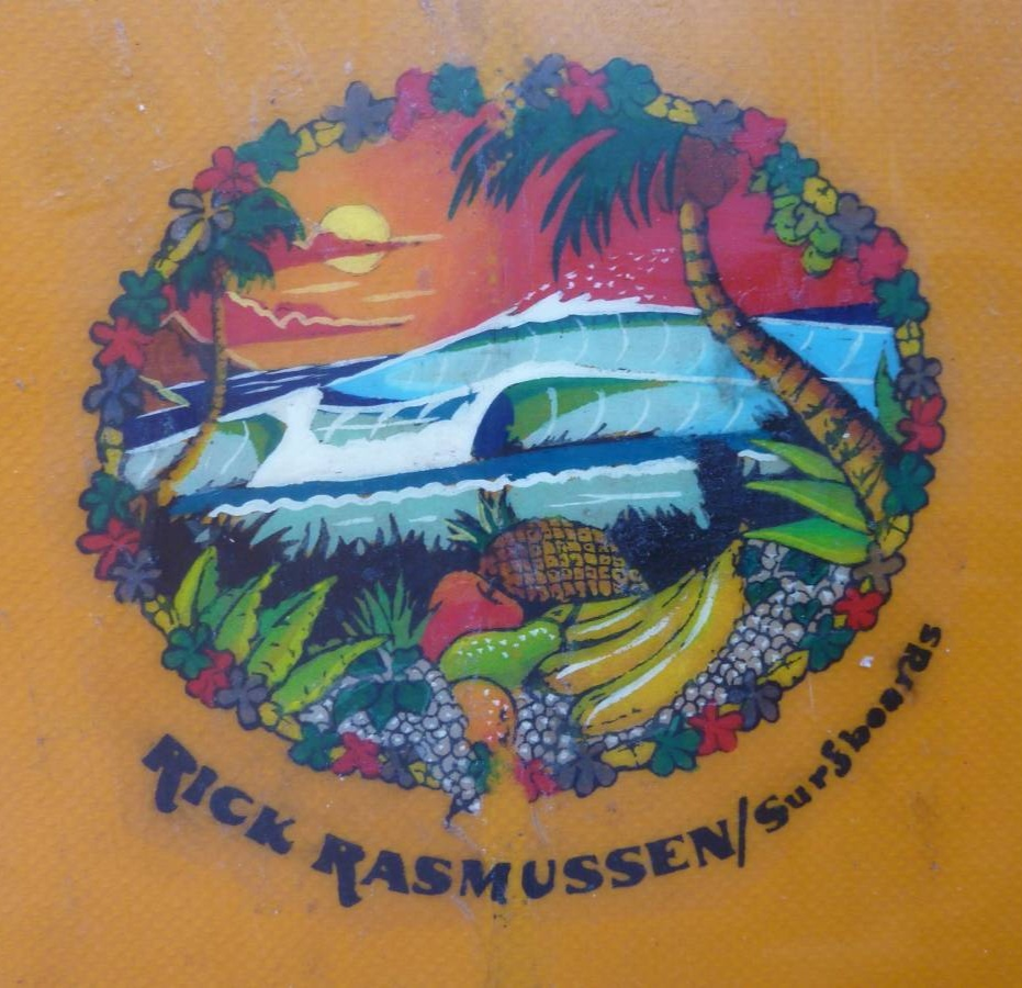 Rick Rasmussen Surfboard Logo