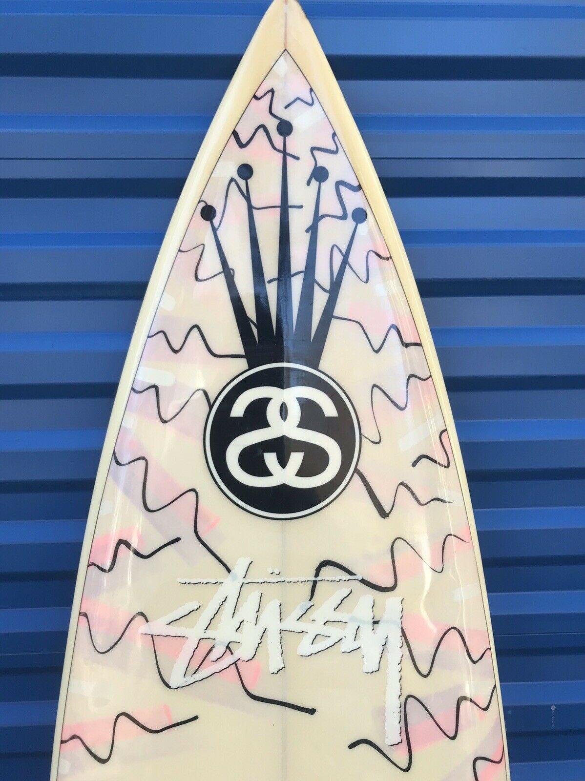 Stussy Surfboard: Eighties (?) Thruster
