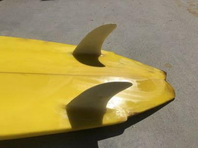 Channel Islands Al Merrick Tri Plane Hull Twin Fin Tail