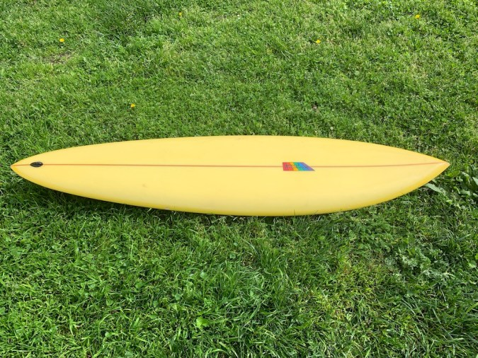 Natural Progression Single Fin Robbie Dick 4