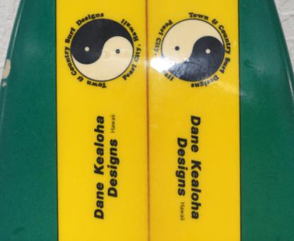 T&C Surf Dane Kealoha Surfboard Logo 1
