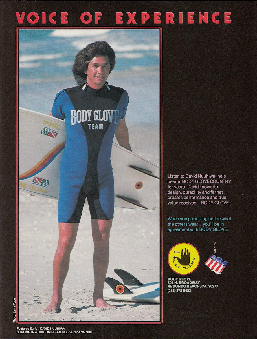 David Nuuhiwa Body Glove Ad