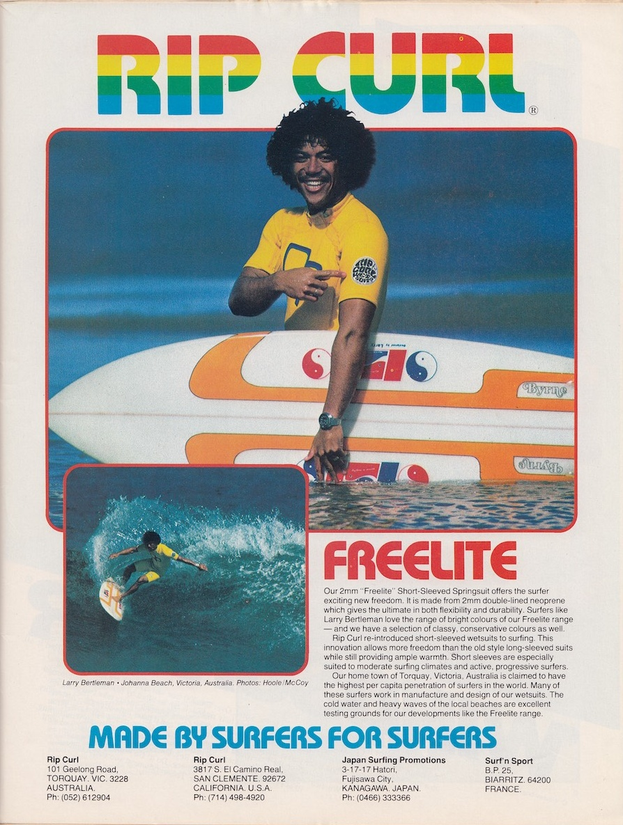 Larry Bertlemann for Rip Curl: Sagas of Shred