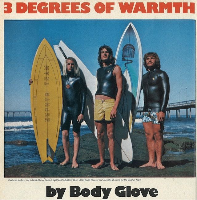 Vintage Body Glove Ad: Sagas of Shred