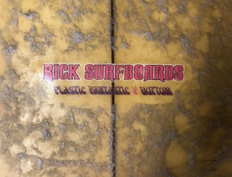 Rick Surfboards Plastic Fantastic V Bottom