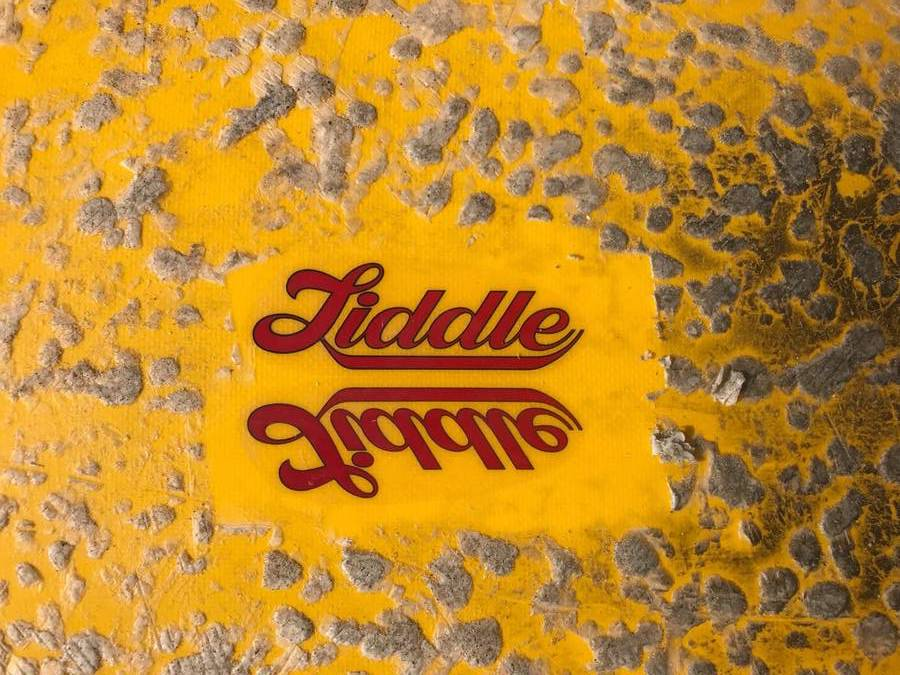 Vintage Liddle Single Fin
