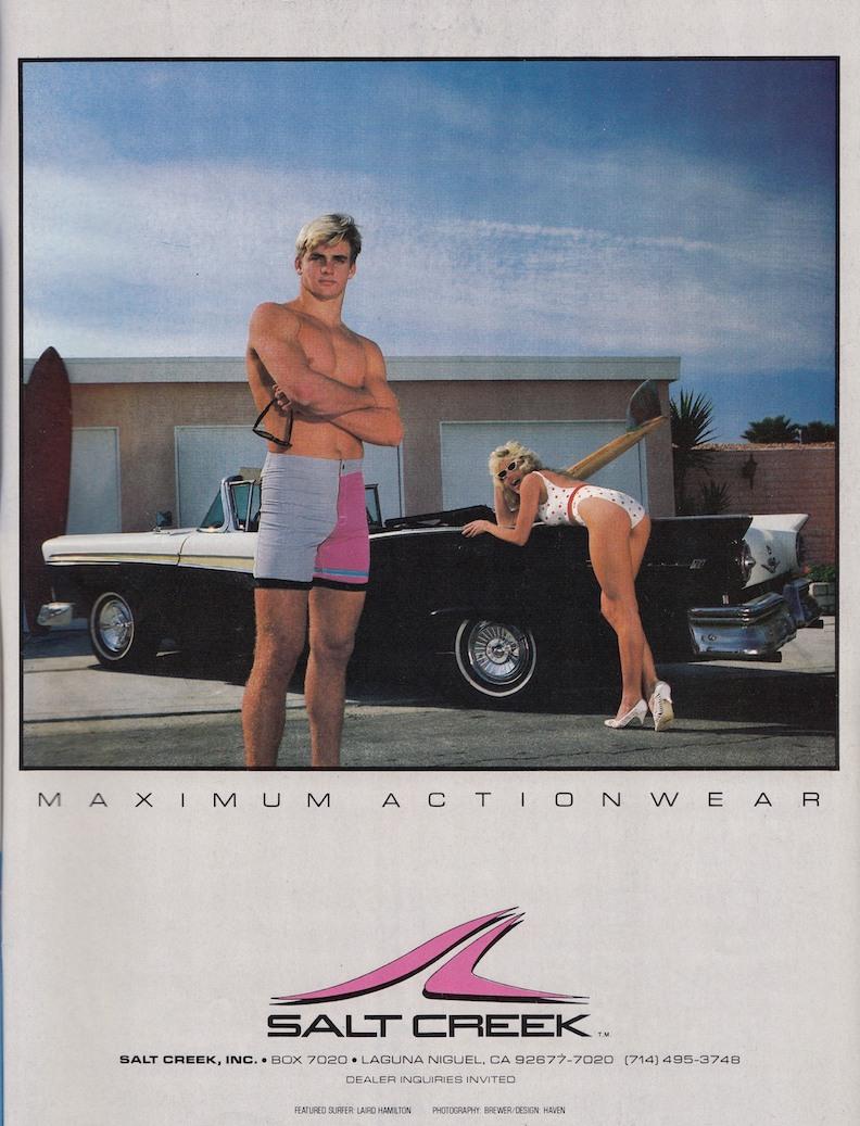 Maximum Actionwear: Laird Hamilton for Salt Creek